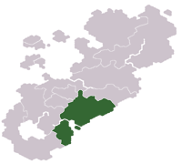 Location of Yssaria
